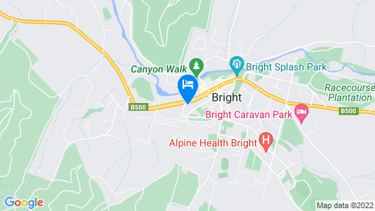 Couples on the Park - Great location! Map