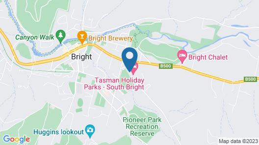 Bright Caravan Park Map
