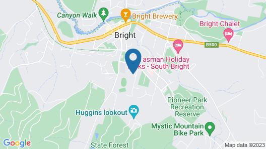 3 Peaks Rise - BRIGHT Map
