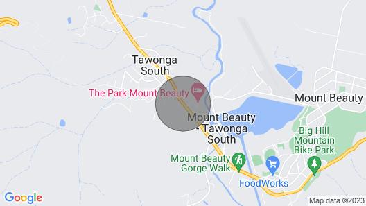 Dreamers Honeymoon Spa Chalet- Mt Beauty Map
