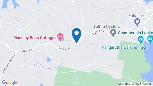 Kianinny Bush Cottages Map