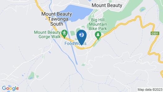 Mt Beauty Motor Inn Map