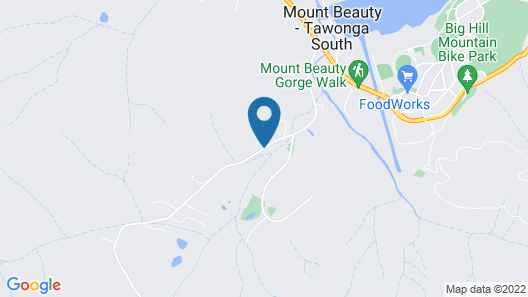 Kiewa Country Cottages Map