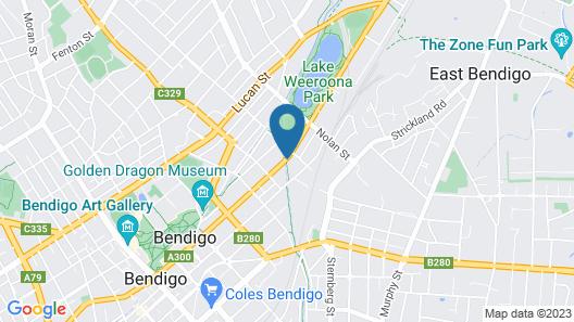 Quest Bendigo Central Map