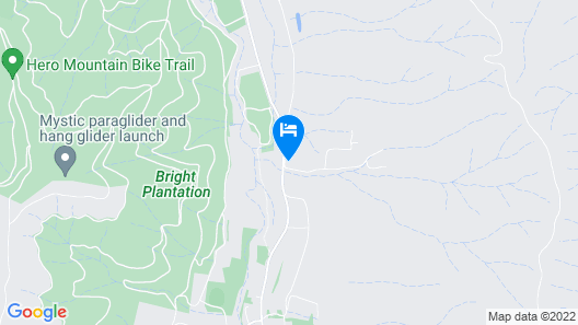 3 Bells Alpine Cottage Map
