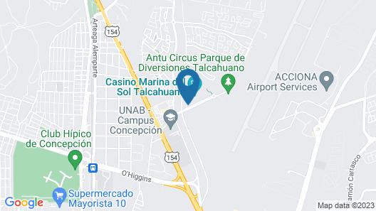 Hotel MDS Concepción Map