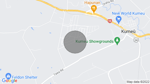Modern Home for weddings/holiday in Kumeu Wine Country. Map