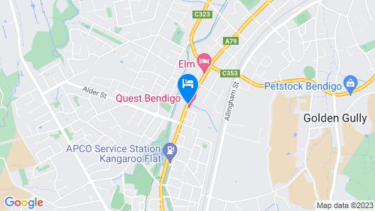 Quest Bendigo Map