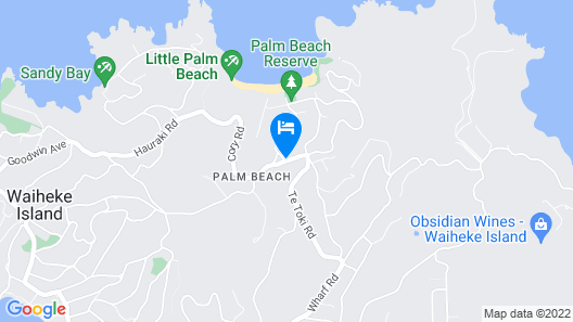 The Apartment at Palm Beach Map