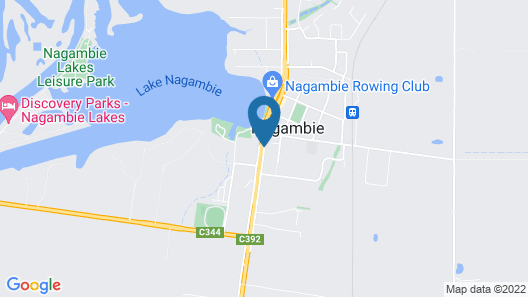 Centretown Motel Nagambie Map