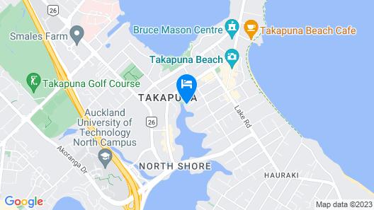 takapuna huron holiday homes Map