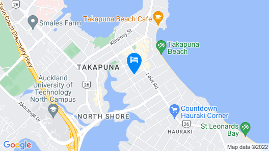 Urban Estates - Spencer by the Beach Map