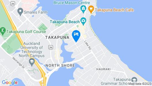 Takapuna High Rise Apartment Map