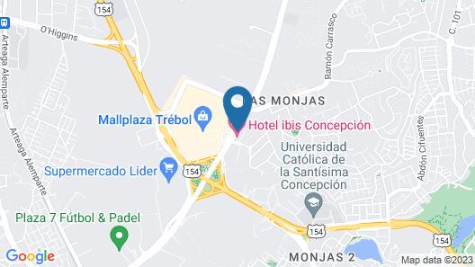 Apart Hotel PGE Map