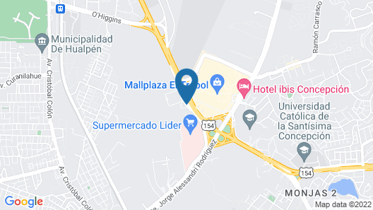 Hotel Pettra Concepcion Map