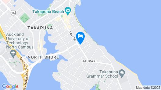 Carnmore Hotel Takapuna Map