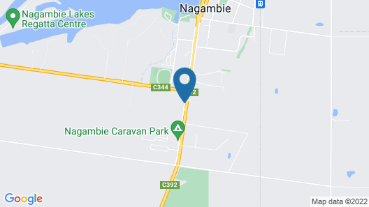 Nagambie Motor Inn Map