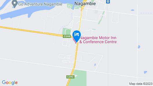 Nagambie Motor Inn Map
