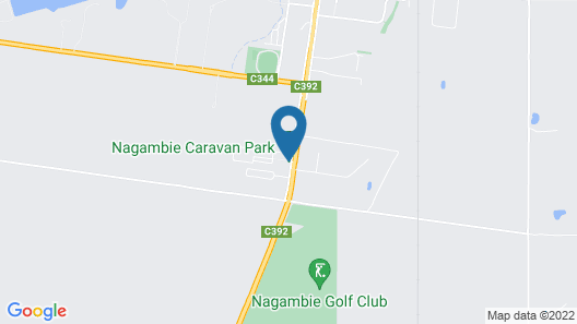 Nagambie Caravan Park & Motel Map