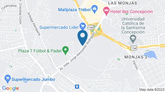 Diego Almagro Lomas Verdes Map