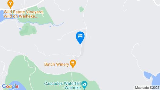 Villas Waiheke Map