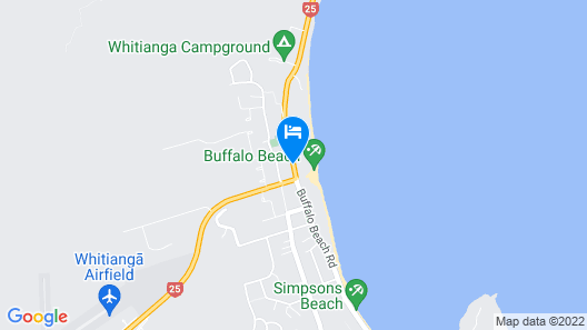 Admiralty Lodge Motel Map