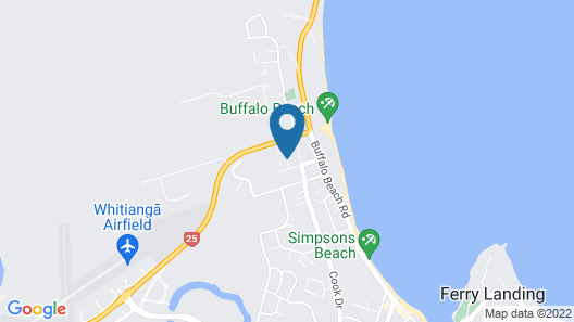 Pipi Dune Bed & Breakfast Map