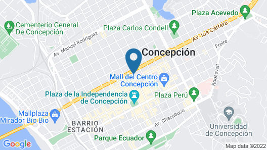 Hostal Colo Colo  Map