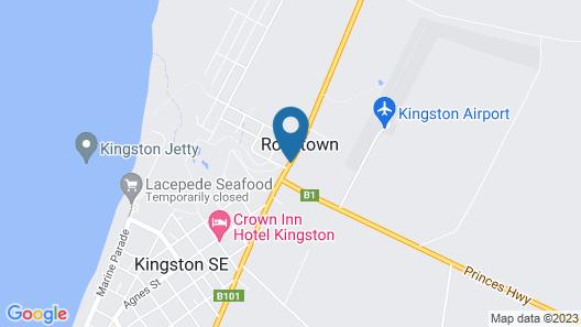 Kingston Lobster Motel Map