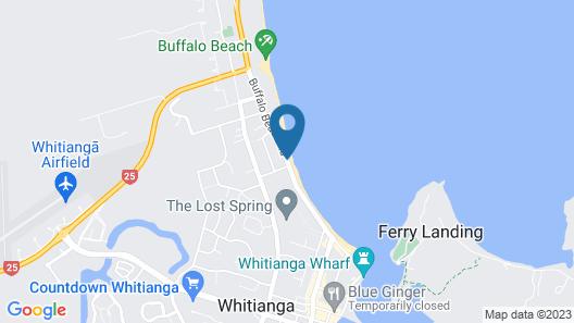 Oceanside Motel Map