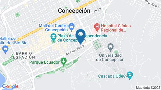 NM ApartHotel Orompello Map