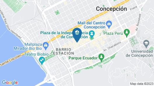 Hotel HD Ex Dorado Map