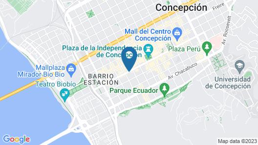Hotel Terrano Concepción Map