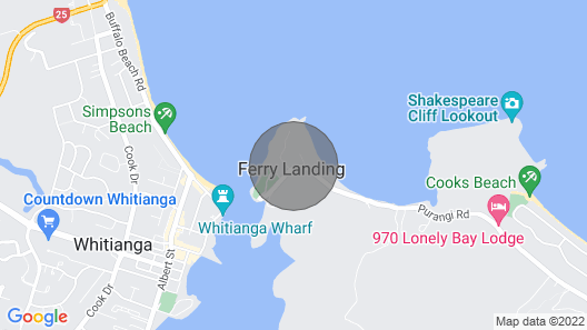 Flaxmill Bay Motel Unit 3 - Flaxmill Bay Map