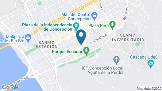 Plaza Parque Suites Map