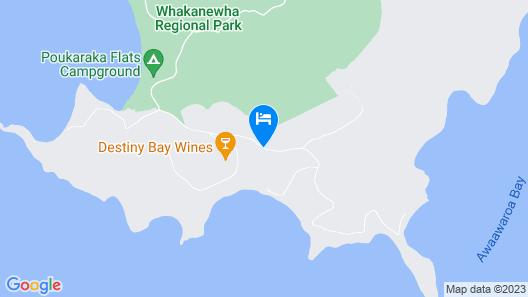 Woodside Bay Chalets Map