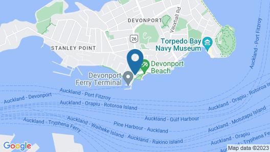 The Esplanade Hotel Map