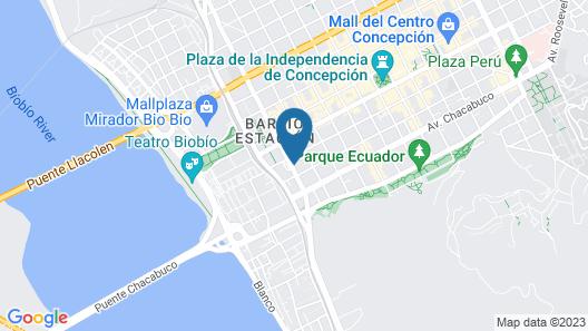 Departamentos Amoblados Don Teodoro Map