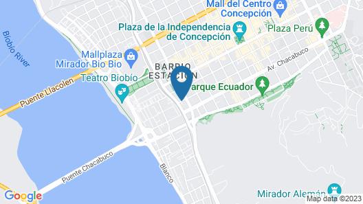 Mercure Concepción (Ex Atton) Map