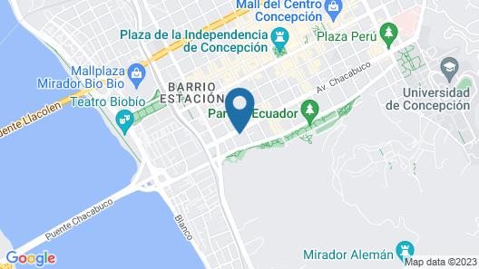 Hotel Diego De Almagro Concepcion Map