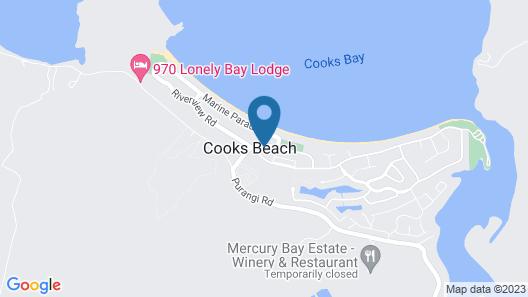 Bay Breeze Accommodation Map