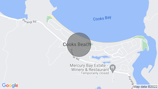 Daze Away - Cooks Beach Holiday Home Map