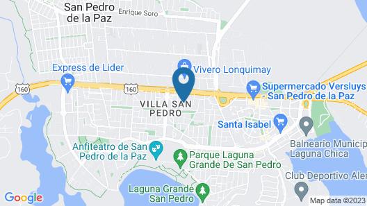 Departamento Villa San Pedro Map