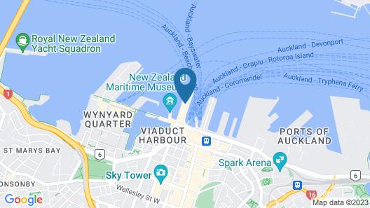 Princes Wharf Boutique Apartment Map