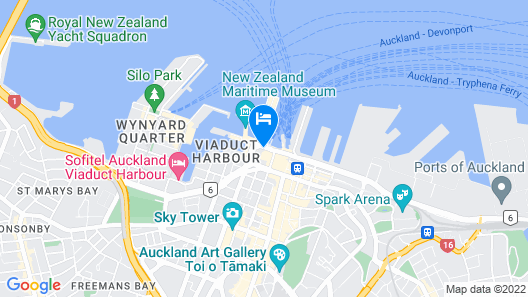 M Social Auckland Map