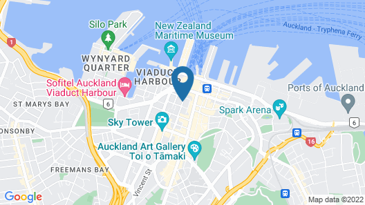 Stamford Plaza Auckland Map