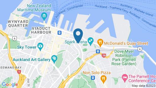 Nesuto Stadium Hotel and Apartments Map