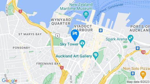 Ramada Suites Victoria Street West Map