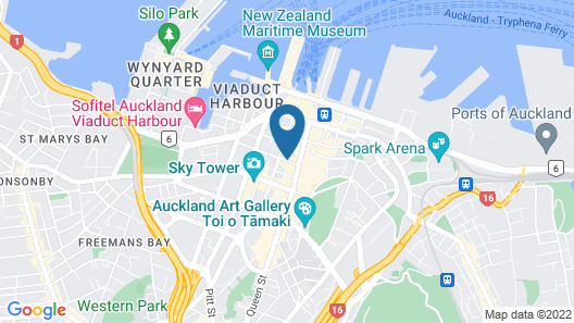 ibis Budget Auckland Central Map