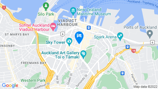 CityLife Auckland Map